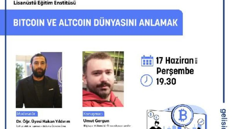 Bitcoin ve Altcoin dünyasını anlatacaklar Bitcoin